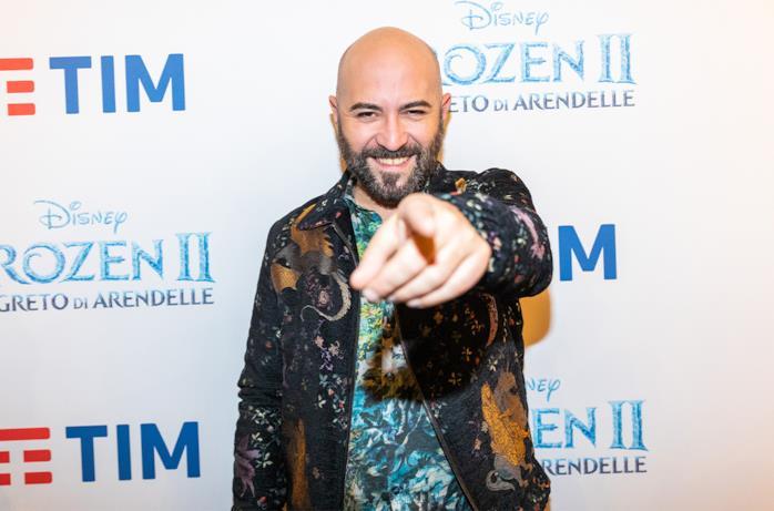 Il cantante dei Negramaro Giuliano Sangiorgi