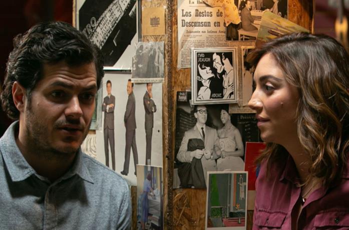 Alfonso Dosal e Regina Blandón in una scena del film C'è solo un problemino