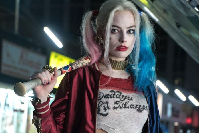 Harley Quinn in una scena di Suicide Squad