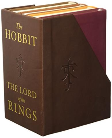 The Lord of the Rings e The Hobbit di J.R.R. Tolkien