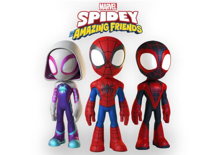 Immagine promozionale di Spidey and his amazing friends