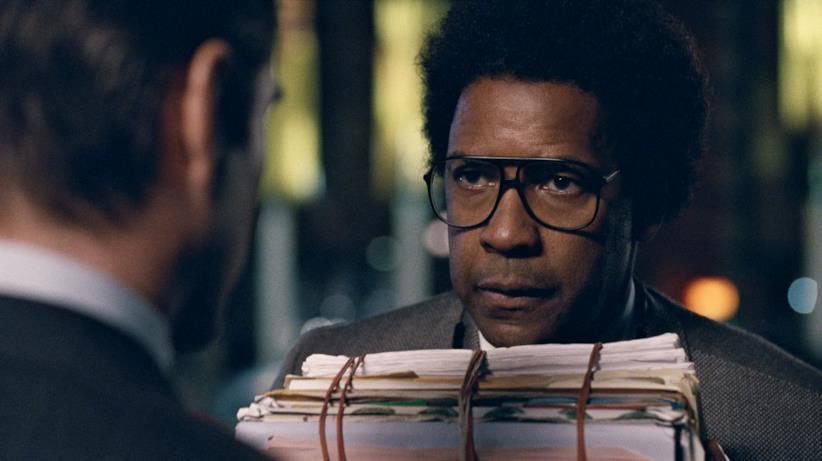 Primo piano di Denzel Washington