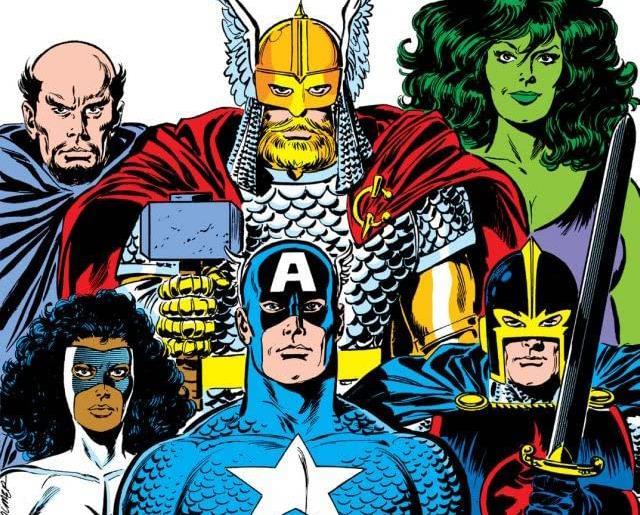 Dettaglio della cover di Avengers #279