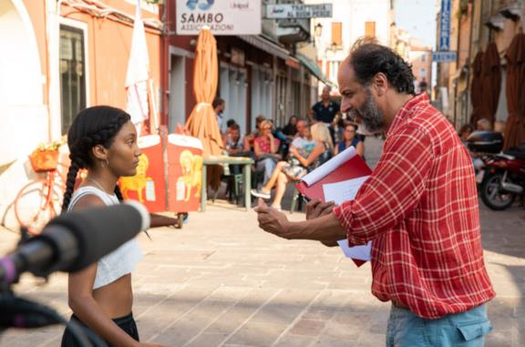 Luca Guadagnino sul set di We Are Who We Are