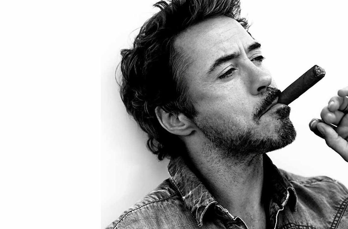 Un primo piano di Robert Downey Jr.