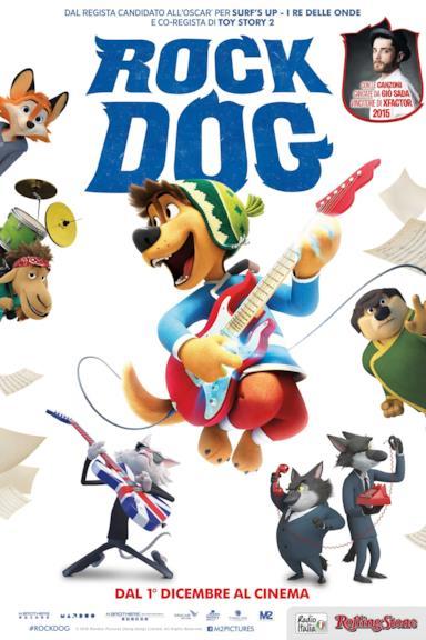 Poster Rock Dog