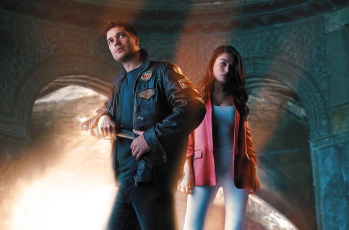 Un'immagine dei protagonisti di The Protector