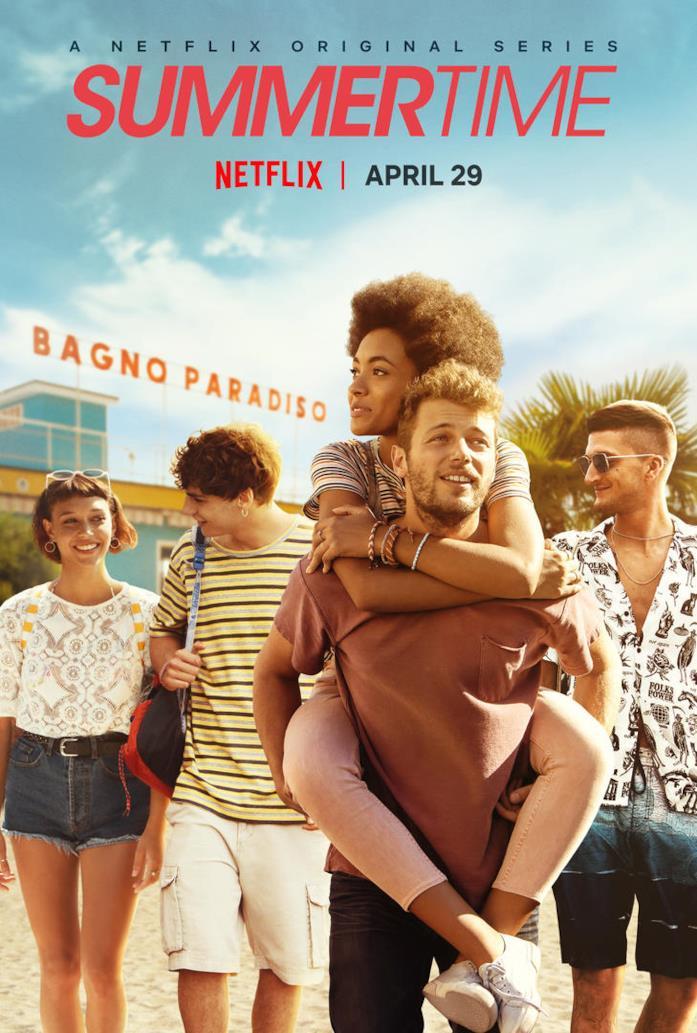 Summertime - il poster della serie TV