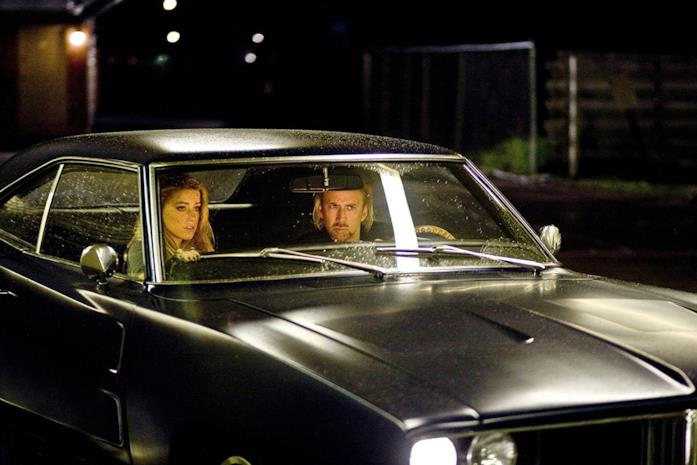 Nicolas Cage e Amber Heard in Drive Angry