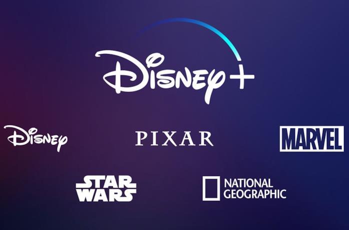 Il logo Disney+ e dei vari partner aderenti al servizio