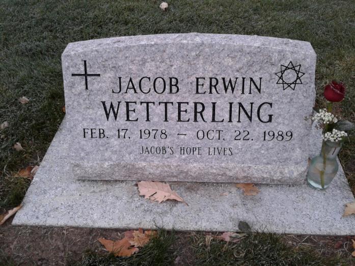 Tomba di Jacob Wetterling