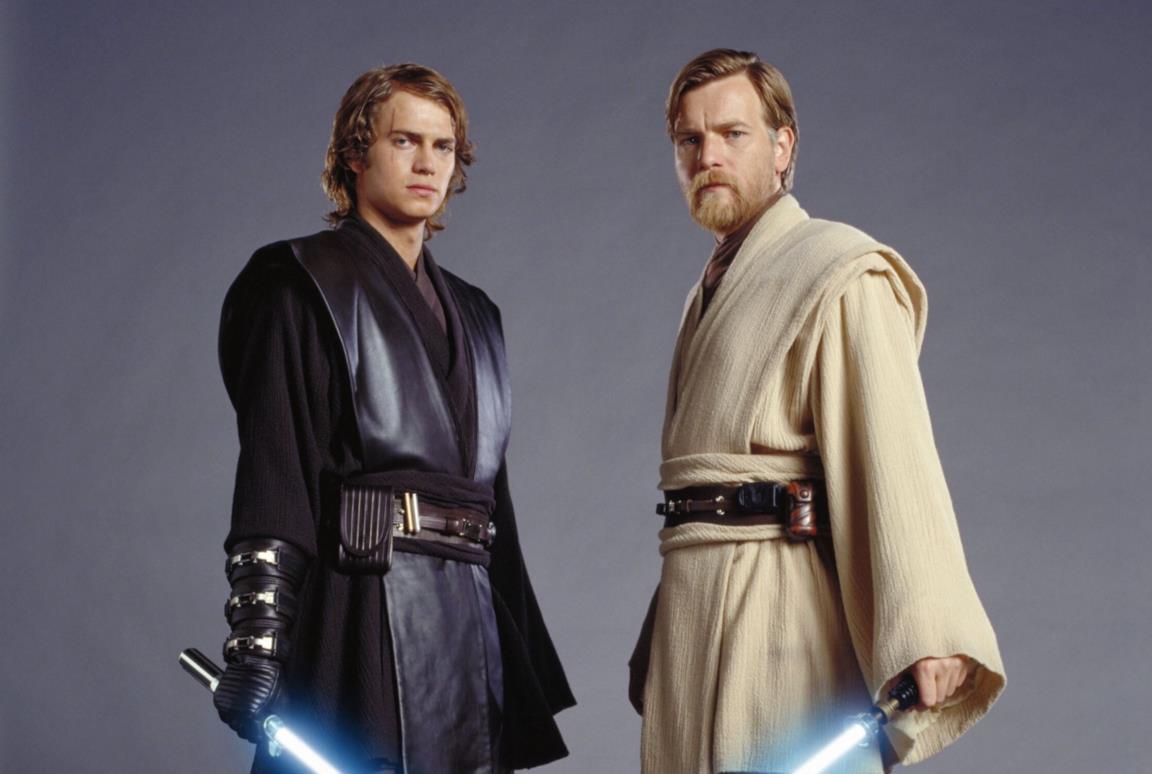 Anakin e Obi-Wan