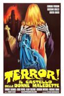 Poster Terror! Il castello delle donne maledette