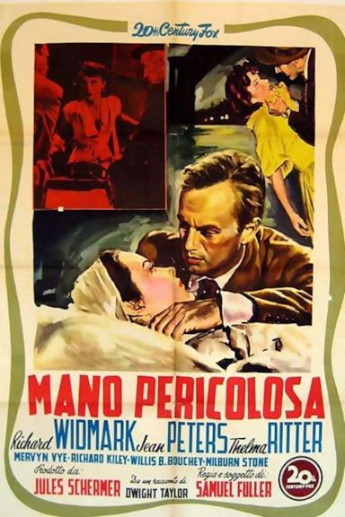 Poster Mano pericolosa