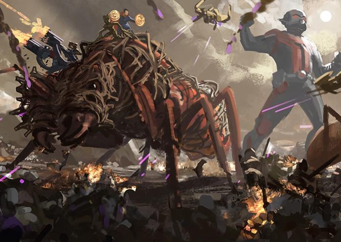Una panoramica della battaglia finale di Endgame