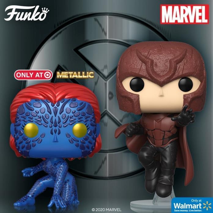 Magneto e Mystica in versione Pop!
