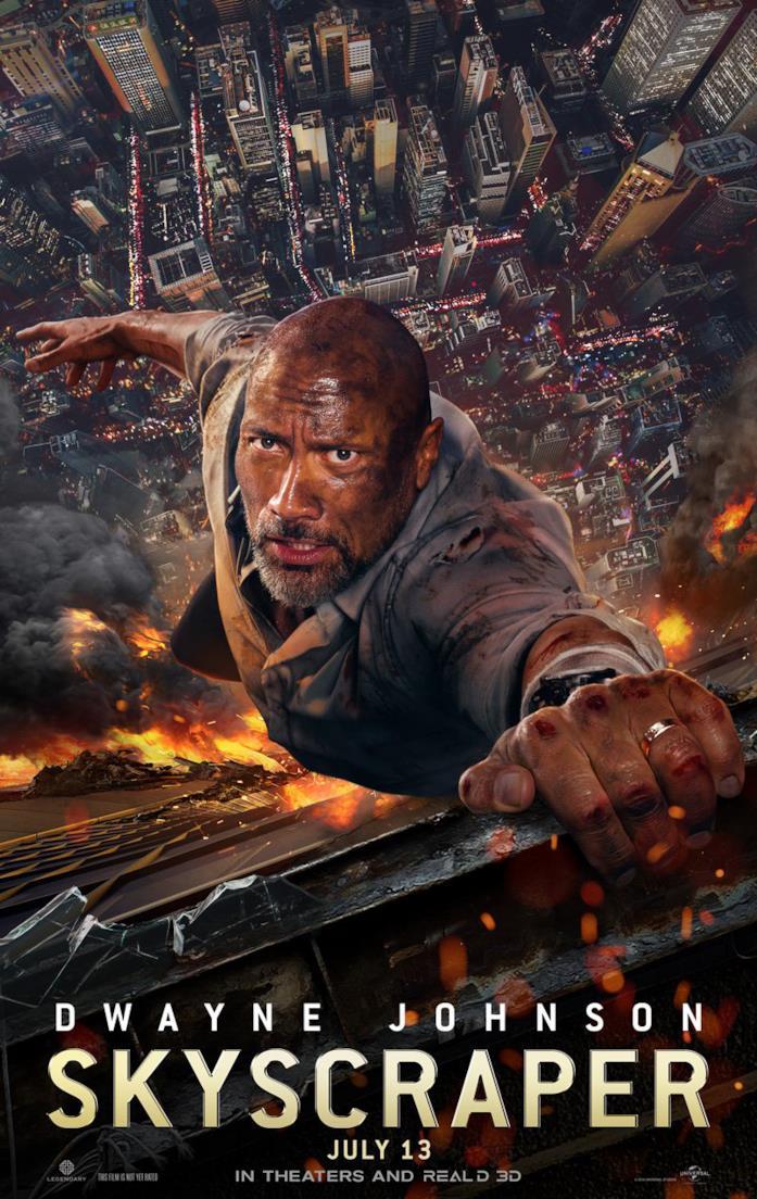 Skyscraper, film con Dwayne Johnson