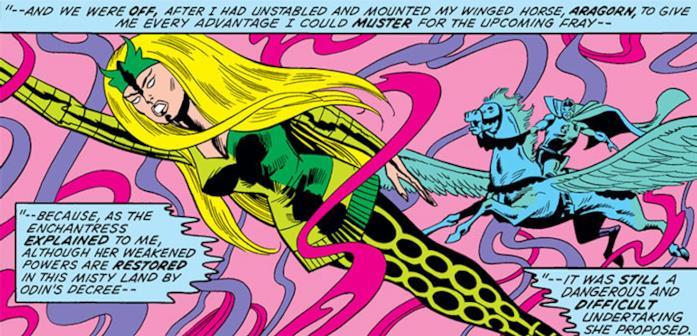 Amora nei fumetti Marvel