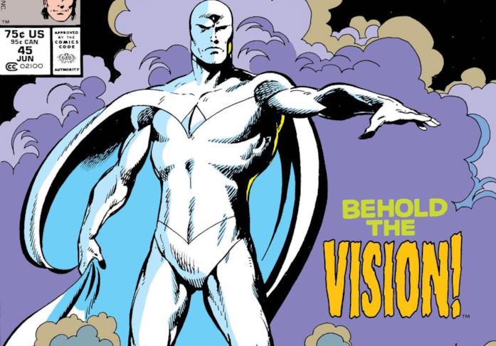 Dettaglio della cover di Avengers West Coast 45