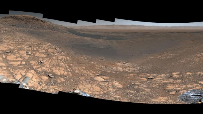 L'immagine panoramica di Marte da 1,8 miliardi di pixel