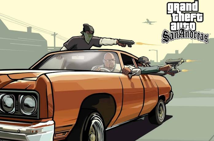 Un'immagine da GTA: San Andreas