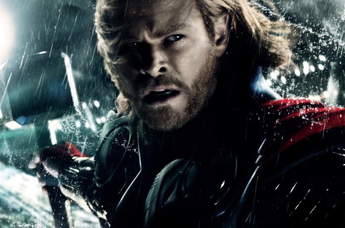 Chris Hemsworth:in Thor di Kenneth Branagh