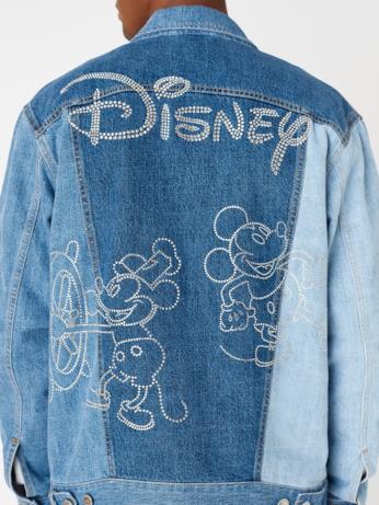 Giacca in denim KITH x Disney - retro