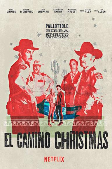 Poster El Camino Christmas