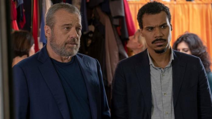 Carlo e Malik nella serie