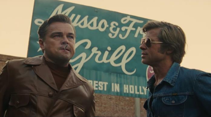 Leonardo DiCaprio e Brad Pitt sono Rick e Cliff