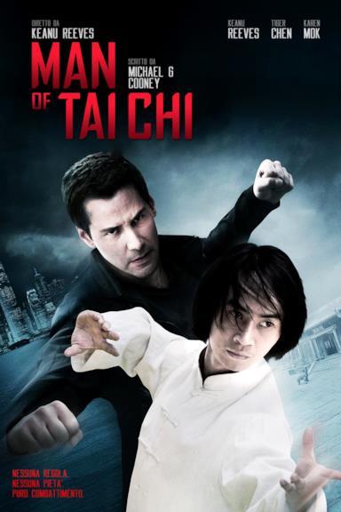 Poster Man of Tai Chi