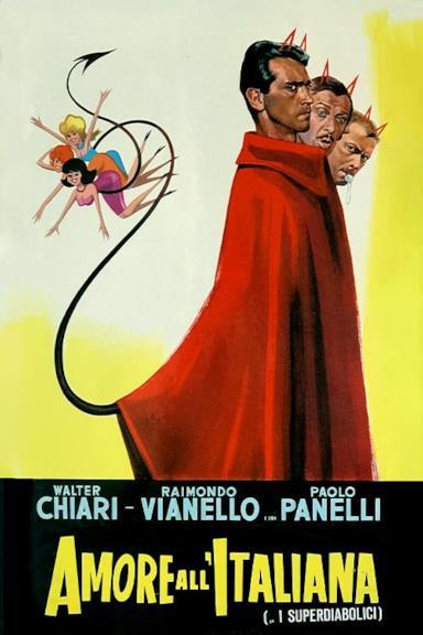 Poster Amore all'italiana