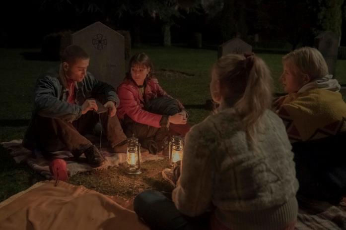 Una scena della serie TV Netflix Equinox