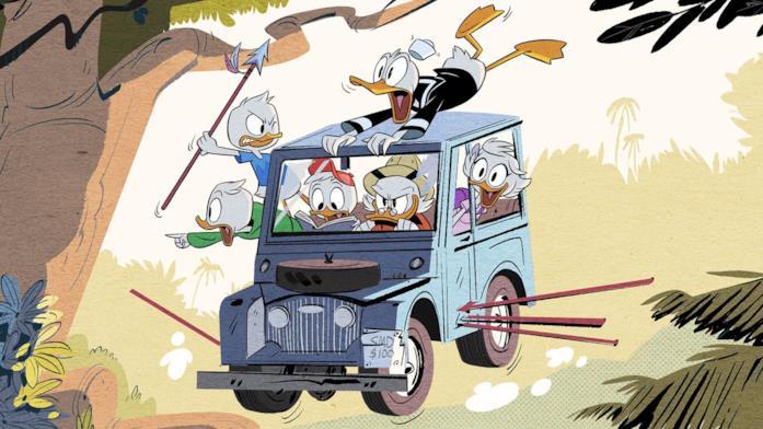 Gli episodi di DuckTales su Disney+ vanno visti nel giusto ordine