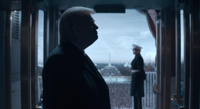 Trump di profilo