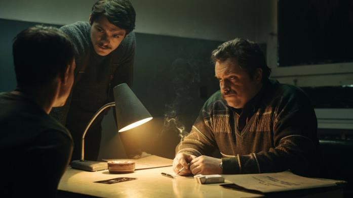 Tomasz Ziętek e Tomasz Schuchardt in una scena del film Operation Hyacinth
