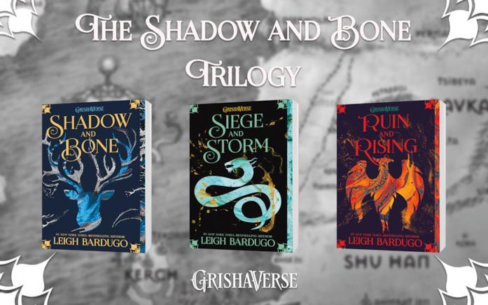 Tutti i libri nella trilogia di Shadow and Bone