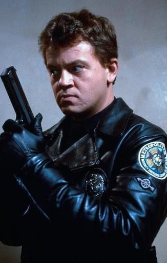 L'attore David Graf in Scuola di Polizia