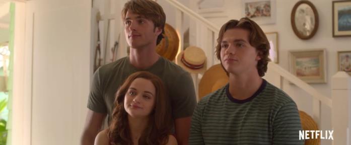 Un fotogramma tratto dal trailer di The Kissing Booth 3