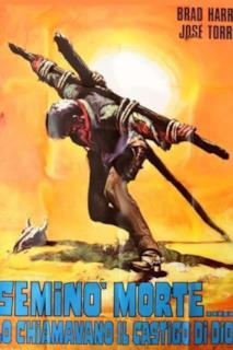 Poster Seminò morte... lo chiamavano il Castigo di Dio!
