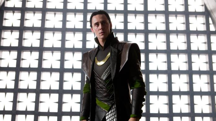 Loki interpretato da Tom Hiddleston