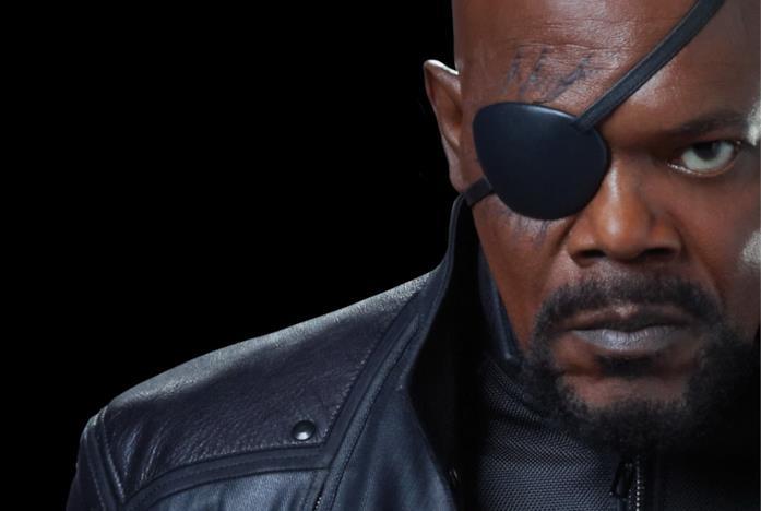 Nick Fury interpretato da Samuel L. Jackson