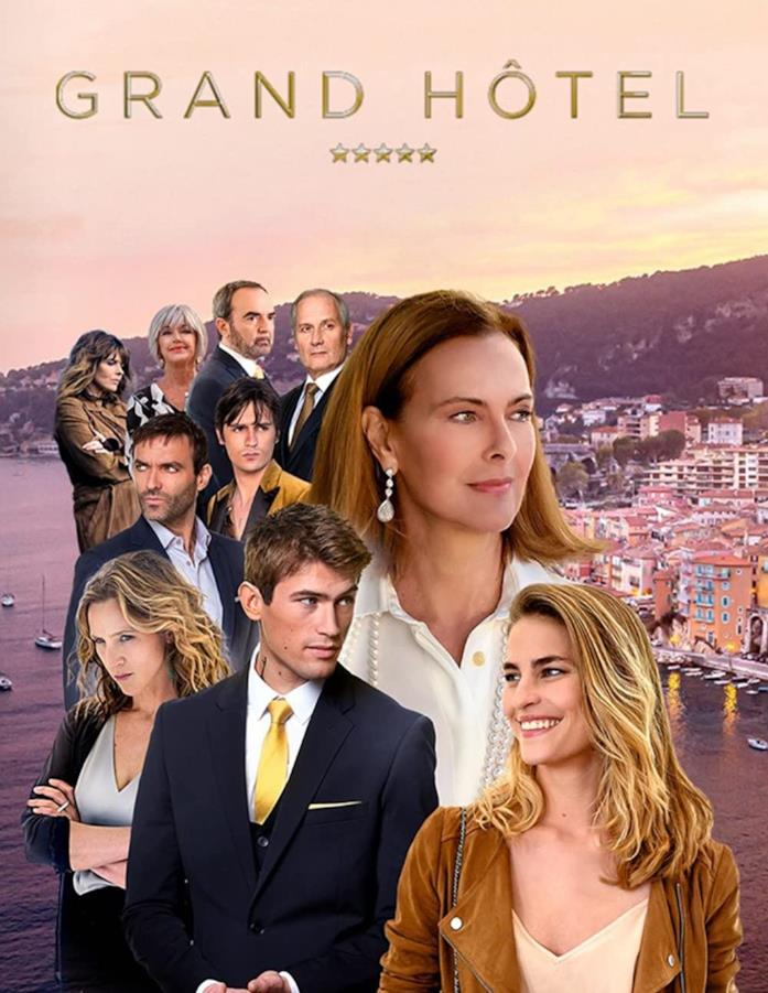Il cast di Grand Hôtel