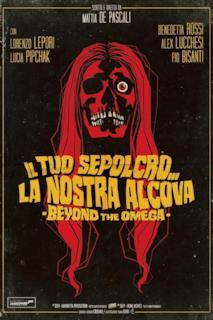 Poster Il tuo sepolcro... la nostra alcova - Beyond the Omega