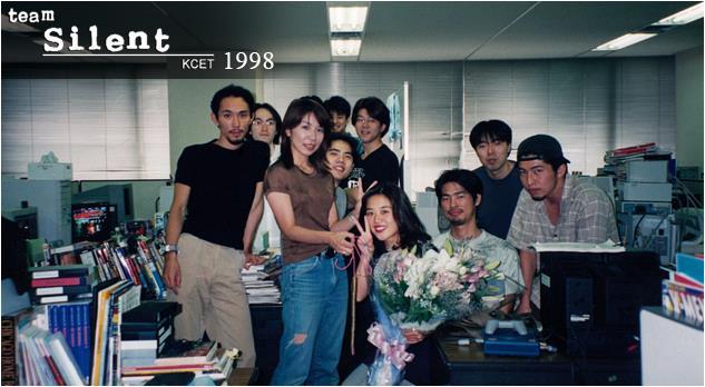 In foto il Team Silent che ha contribuito ai primi 4 capitoli di Silent Hill