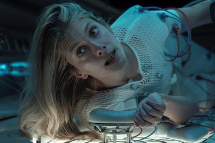 Mélanie Laurent in una scena del film Oxygène