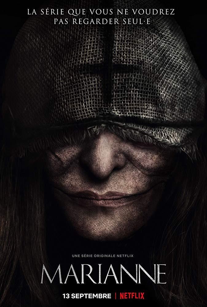 Il poster originale della serie TV francese Marianne
