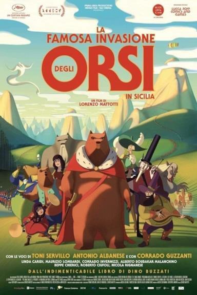 Poster La famosa invasione degli orsi in Sicilia