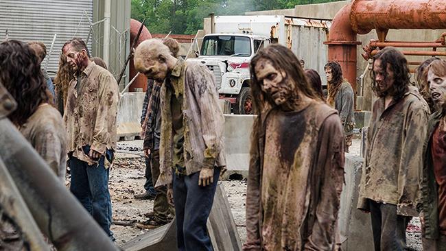 Zombie nella stagione 8 di The Walking Dead
