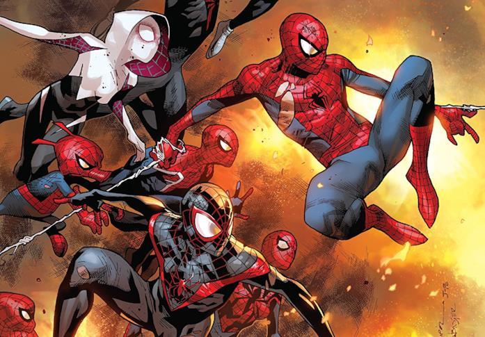 Cover di Amazing Spider-Man Vol. 3: Spider-Verse